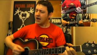Elderly Woman Behind The Counter In A Small Town - Pearl Jam acoustic cover