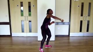 Azonto Fuse ODG Feat. Tiffany, Ghana  - Zumba - Abigail Ellis