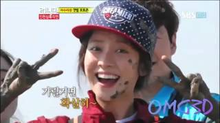 Running Man cute session ( Ep.154 and Ep. 115 )