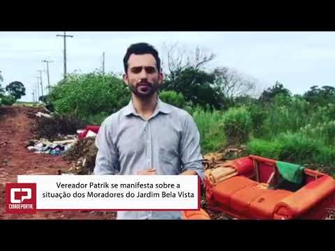Vereador fala sobre situação do Jardim Bela Vista - Cidade Portal