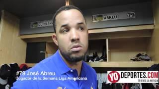 Jose Abreu es Jugador de la Semana