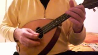"Weymann Style 25 Mandolin soundcheck ""A Spanish Waltz"""