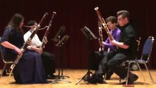 Themes from Star Wars for Bassoon Quartet; The Palm Trees Bassoon Quartet