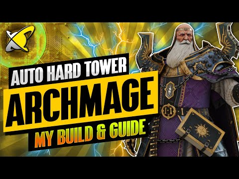 """""""MY MAXED OUT"""" Archmage Hellmut Build, Guide & Masteries 
