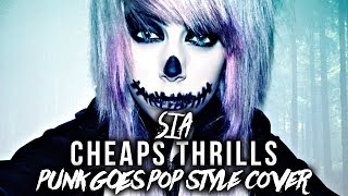 """Sia - Cheap Thrills [Band: A Thousand Suns] (Punk Goes Pop Style Cover) """"Post-Hardcore"""""""