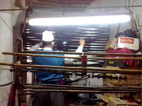 Spinning – 1st Step Weaving Marrakech Morocco – Part 2