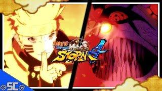 ●News/Update - 10 Tails Boss Battle & NEW Naruto/Kurama Ultimate Jutsu?! | NARUTO STORM 4【4K UHD】●