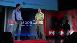 Rede educação viva: Ricardo Morais-Pequeno & Allan Sousa at TEDxLisboaED