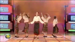 Catinca Popa - Hora din Moldova (cover Nelly Ciobanu, la Televiziunea copiilor)