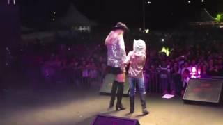 Jayne priscila show em rio do súl com a cantora jayne
