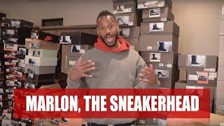 Marlon's Sneaker Collection ( Part 1) | Marlon Wayans