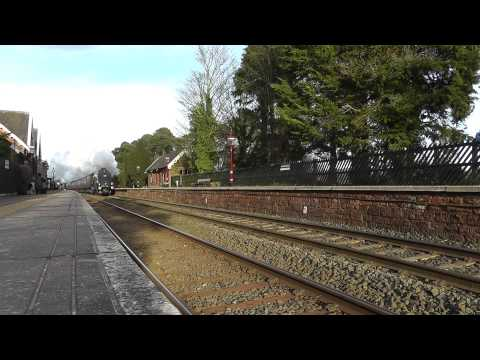 LNER A4 60009 Union of South Africa at Armathwaite 2nd Feb 2013 WCME (1Z88).m2ts
