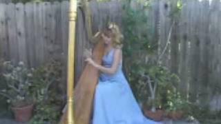 Happy Birthday - Las Mananitas (Harp) Katrina (Los Angeles)