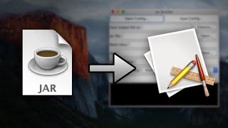 Bundling A jar File Into A Mac OS X Executable Application File width=