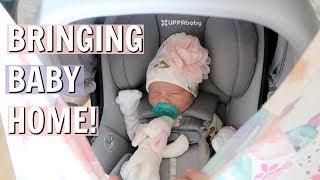 BRINGING NEWBORN BABY HOME FROM HOSPITAL!