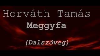 Horváth Tamás - Meggyfa dalszöveg