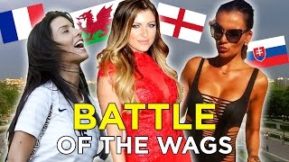 EURO 2016 Hottest WAGs | Feat: England, France and Wales (Groups A & B)