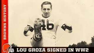 Browns History: Lou Groza signed his contract in Okinawa | Cleveland Browns