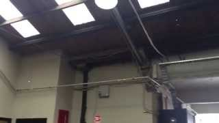 50W LVD Induction Lamp replace 150W HID In Coffee Warehouse