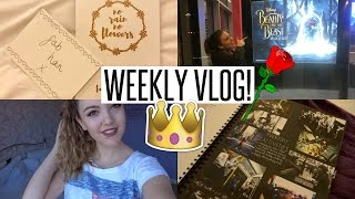 VLOG: Beauty & The Beast + A Level Photography Update!