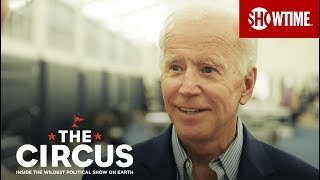 Joe Biden Says The Way Trump Talks Is Beneath Us | THE CIRCUS | SHOWTIME