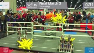 Technology Finals Match 3 - VEX Worlds 2017