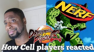 HOW CELL PLAYERS REACTED TO THE NERFS! (Dragon Ball FighterZ) width=