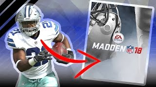 AND THE MADDEN 18 COVER ATHLETE IS...?