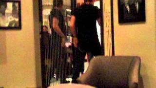 Green room antics on Darlene Zschech Tour