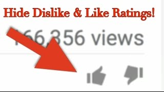 How to Hide Likes & Dislikes on YouTube Videos