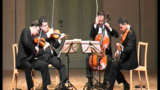 Mozart, Quartet K.421 in D Minor - 3. Menuetto and Trio. Allegretto