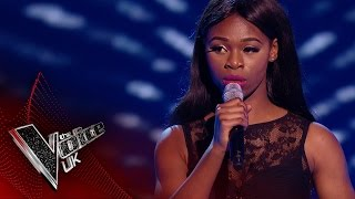Diamond performs 'If I Ain't Got You': Blind Auditions 1 | The Voice UK 2017