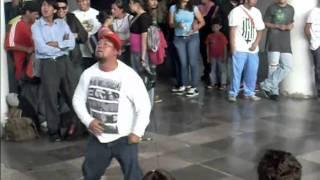 """Circo la Nacion - Subele """"Hip Hop en el Subterraneo"""" [Metro San Lazaro]"""