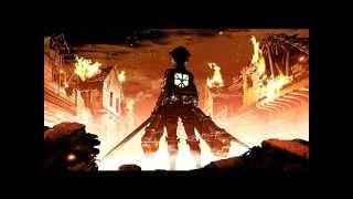 "Shingeki no Kyojin 進撃の巨人 OP / Opening - ""Guren no Yumiya"" - REVO of Linked Horizon"