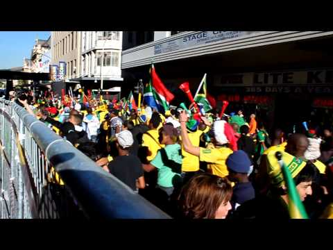 bafana supporters