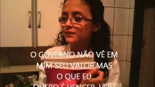 """paródia da música """"VAI E CHORA""""(Sorriso Maroto) letra de IRIS AGNES SANTOS DOMINGOS-12 ANOS"""
