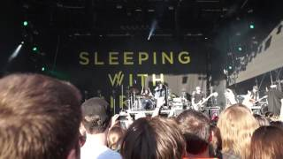Sleeping with sirens (live) We Like It Loud - Budapest Park 17.06.2017