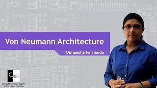 Von Neumann Architecture (In Sinhala) width=