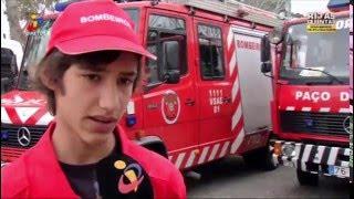 Reportagem Jovens Bombeiros Voluntários - 28 Abril 2016