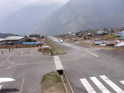 The Famous Lukla Landing