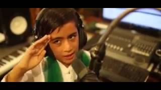 This Milli Naghma By A Cute Child Going Viral In Social Media width=