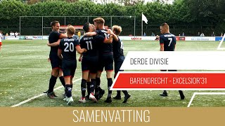 Screenshot van video Samenvatting Barendrecht - Excelsior'31
