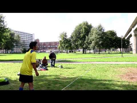 ecua volley en Amsterdam