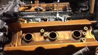 350z leaking spark plug tube seal FIX! Part 1