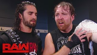 """Dean Ambrose accuses Seth Rollins of being """"predictable"""": Raw, Sept. 25, 2017"""