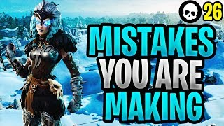 Mistakes That You're Probably Making In Fortnite! (Fortnite How To Get Better)