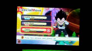Fusing Goku and Vegeta in Dragon Ball Fusions for 3DS