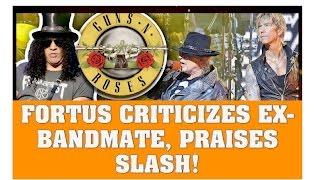 Guns N' Roses News: Richard Fortus Criticizes Ex Bandmate & Praises Slash