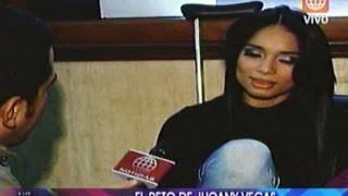 A las Once: El reto de Jhoany Vegas - 04/10/2012
