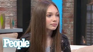 Maddie Ziegler On Her Relationship With 'Dance Moms' Coach Abby Lee Miller | People NOW | People